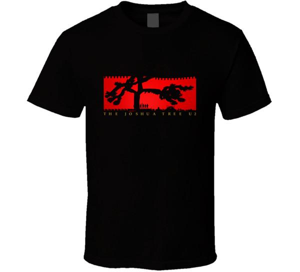 U2 Die Joshua Tree Tour 2017 T-shirt Herren T 100% Baumwolle Fan Geschenk Neu Von US Harajuku Lustige Männer T-shirts