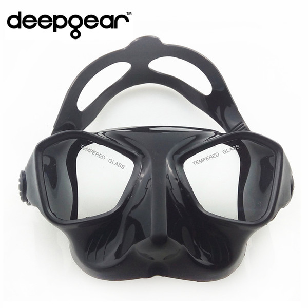 Deepgear spearfishing mask Ultra low volume freediving mask for adult Frameless silicone diving Top spearfishing gears