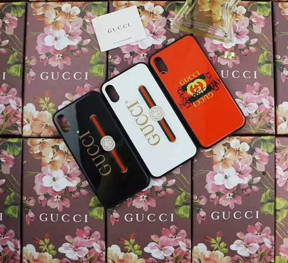 Chilly iPhoneXS web celebrity mobile phone case ins popular logo apple 8plus glass MAX leopard print 7p new female 6
