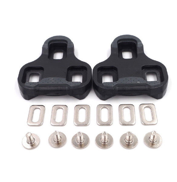 Fit For KEO system pedals bike bicycle cleat Road Bike Cycling Self-locking Cleats 4.5 degree black free shipping