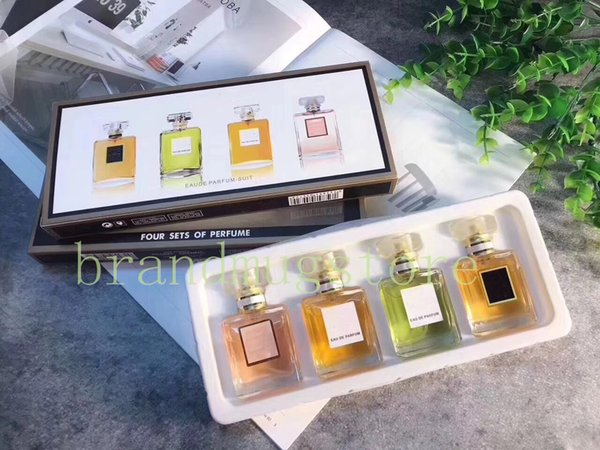 DHL For Christmas Gift!! Top Quality Luxury Brand Perfume 20ml *4 Eau De  Perfume For Women With Long Lasting Time Good Smell High Fragrance Diffuser