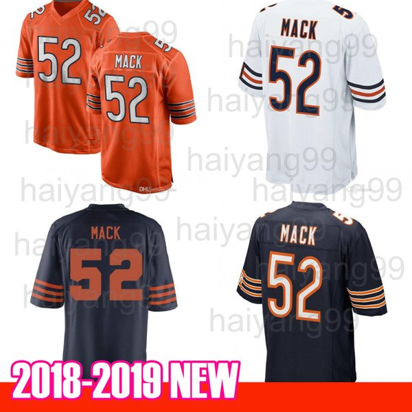 save off f59a1 9c5d3 2018 New Mens #52 Khalil Mack Chicago Jerseys Embroidery Logos Mack Jersey  Hot Sale From Preming, $18.1   Dhgate.Com