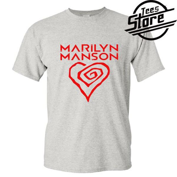 Marilyn Manson Tshirt New Men/'s T-Shirt Tee Size S to 3XL