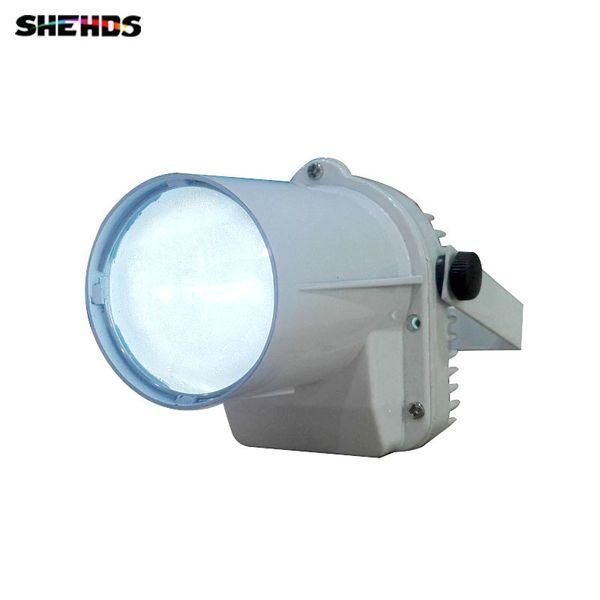 4pcs/lot Fast Shipping White body LED Spotlight 10W Red/Green/Blue/White/Violet Color Lighting for KTV dance hall