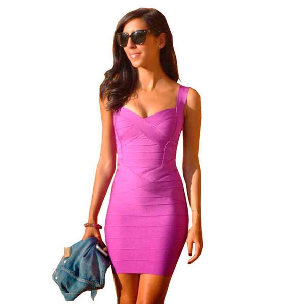 Vestir o corpo apertado Sexy mesmo estilo multicolor estilingue splice bandage dress saia do vestido