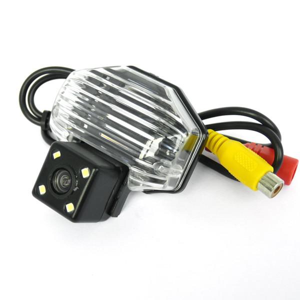 Telecamera per retromarcia posteriore per auto CENYI con luci 4 LED per Toyota Corolla / VIOS / Avensis
