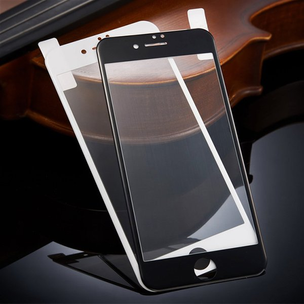 0.26mm Full Screen Tempered Glass Film For iPhone X 8 Plus 7 6 6S Plus Screen Protector Protective Glass Safety Guard