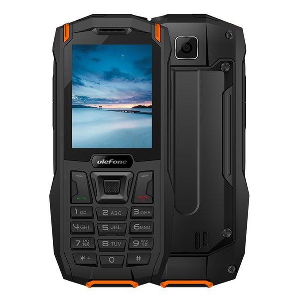 "Ulefone Armor Mini Waterproof IP68 Outdoor Mobile Phone 2.4"" MTK6261D Wireless FM Radio 0.3MP Dual SIM Rugged Phone"