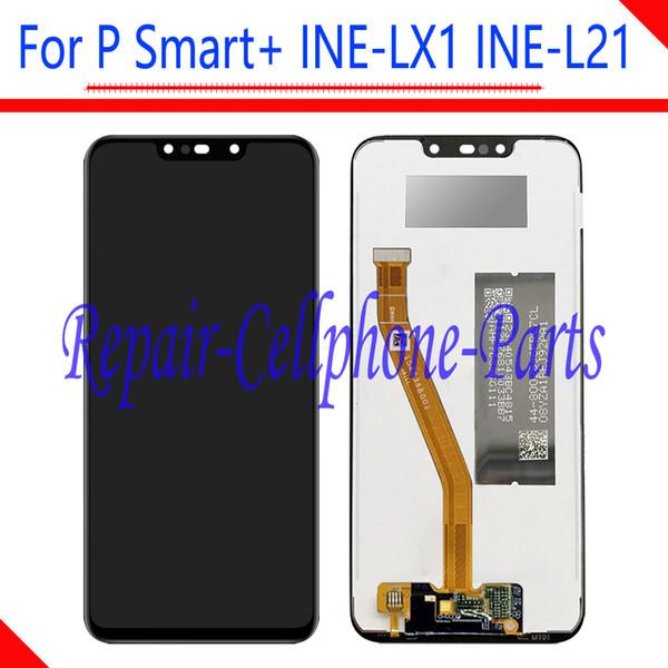 6.3 дюймов полный ЖК-дисплей + сенсорный экран Digitizer Ассамблеи для Huawei P Smart + (P Smart Plus) INE-LX1 / INE-L21 Бесплатная доставка