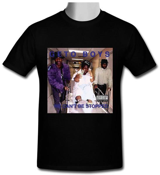 Geto Boys - Футболка We Cant Be Stop Top, черная футболка, размер S до 2XL