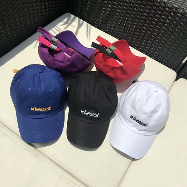 2018 Fashion 5 Colors Blue Baseball Cap Fitted Cap Snapback Hat Men Bone Women Gorras Casual Casquette Letter Black Cap