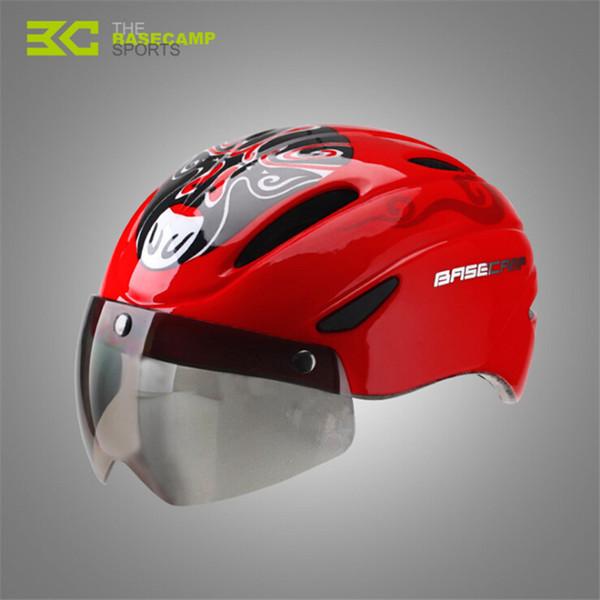 2018 Fahrrad Fahrradhelm Ultraleicht Integral geformten MTB Rennrad Helm Brille mit magnetischen UV-Visier