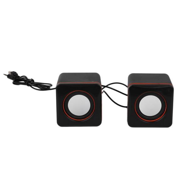 Mini portatile con cavo USB USB Audio Music Player Altoparlante MP3 Laptop PC