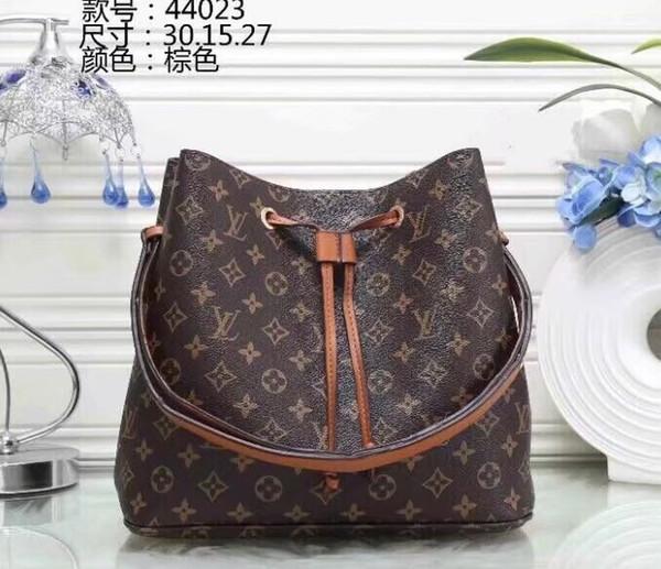 NEONOE sacs à bandoulière en cuir Noé femmes célèbres marques sacs à main designer sacs à main de haute qualité d'impression de fleurs