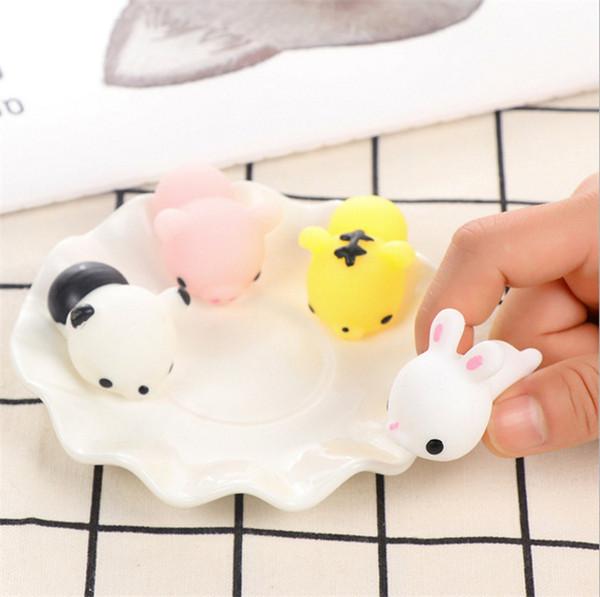 Neue Squishy Langsam steigende Jumbo Spielzeug Brötchen Spielzeug Tiere Nette Kawaii Squeeze Cartoon Spielzeug Mini Squishies Katze Squishiy Mode Seltene Tier Geschenke