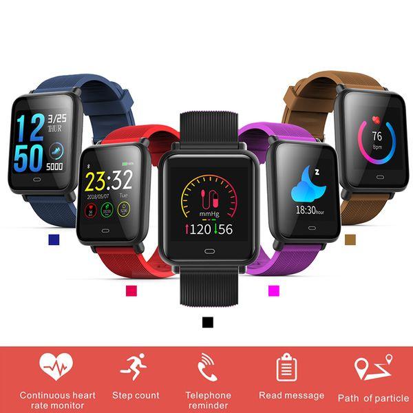 XGODY Q9 Akıllı İzle Spor Smartwatch Nabız Su Geçirmez Aktivite Spor Izci Erkekler Kadınlar için Telefon