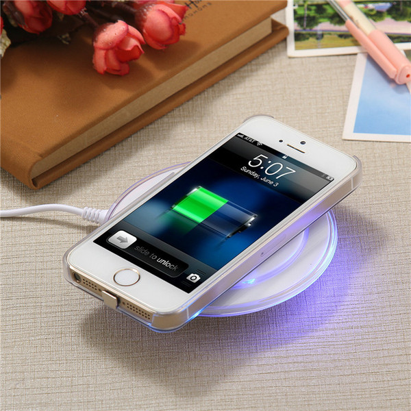 Universal QI Wireless Charger Plate Charging Pad Fast Charging Pad For Samsung Galaxy s6 s6 edge note 5 LG Google Popular