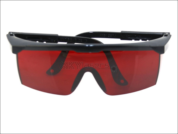 T1S8 Red Safety Glasses 190-540nm Green Laser Pointer Eye Protection Goggles