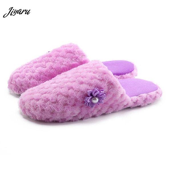 2018 Fashion Winter Women Indoor Slippers Women Home Floor Shoes Winter Warm Slippers Ladies Non-slip for Bedroom