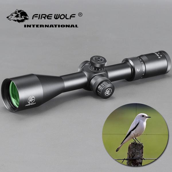 Novo Tático 2-16X50 SFIR Rifle Scope Visão Ótica À Prova D 'Água À Prova de Choque com Totalmente Multi-verde Revestido de Óptica para Caça Tiro Com Arco