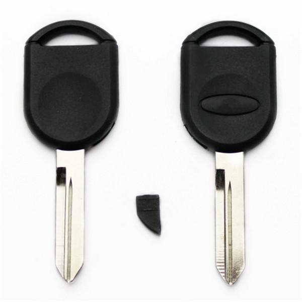10Pcs/lot For Ford Mercury/A78/Escape Blank Transponder Key Shell Can Install Chip With Logo S46