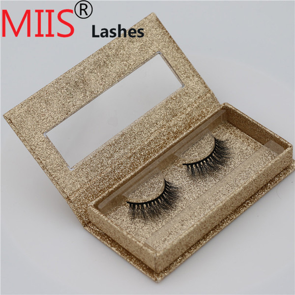 Private label Custom False Eyelash Packaging 100% Real Mink Fur Lash Package Acrylic Eyelash Box Custom Logo Packaging