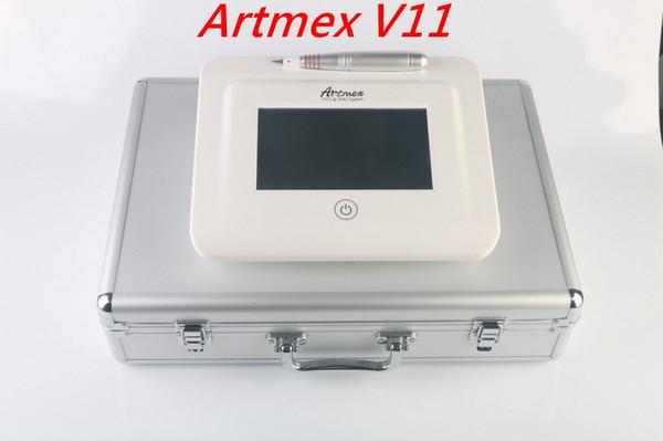 Artmex V11 Permanent Makeup machine digital touch Tattoo Machine set Eye Brow Lip Rotary Pen MTS / PMU System tattoo pen