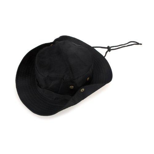 4efd2b5ae5b 2017 NEW Men Women Unisex Hat For Trekking Camping Hiking Sport Sun Cap  Round Rim Hat Black Beach Hats Sun Hats For Women From Zerpa