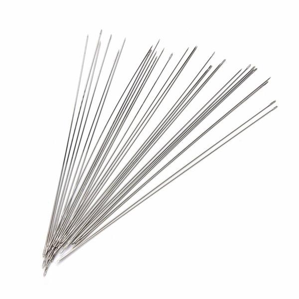 30 stücke 120mm Großhandel Perlen Nadeln Threading Cord Edlen Schmuck Werkzeuge Hohe Qualität DIY Handwerk Machen Zubehör