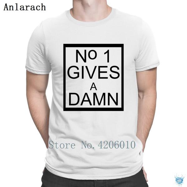 Kein geben Sie ein verdammtes T-Shirt männliches kurzes Hülsen-kundengebundenes authentisches T-Shirt für Männer-Bilder, die modischen Sommer-Art passen