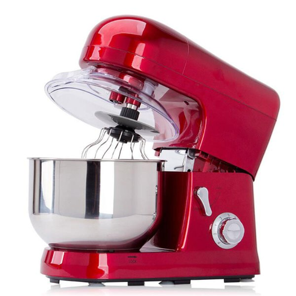 BEIJAMEI Home commercial use 5 L electric food mixer blender egg beater 6 gear dough mixer mixing machine price