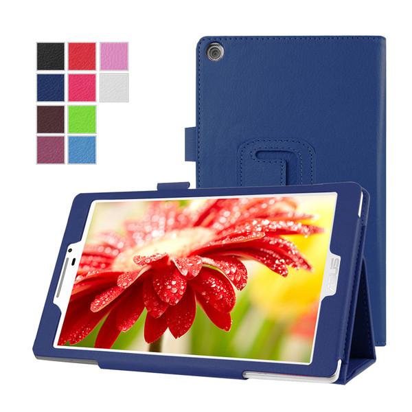ASUS Zenpad 7.0 Z370, GARUNK Moda Litchi Asus Zenpad 7.0 inç Z370 Tablet Aksesuarları için Koruyucu Deri Kapak