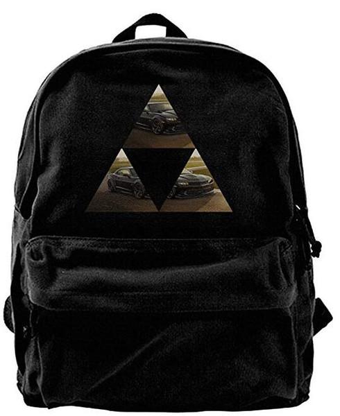 Camaro Z мода холст плеча рюкзак для мужчин женщин подростков колледж путешествия рюкзак дизайнер рюкзак вещевой мешок черный