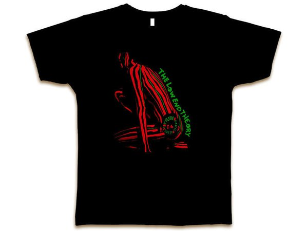 Low End Theory A Tribe Called Quest Cutom Black Tee T-Shirt New Sz S-3XL