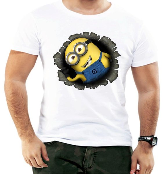 Despicable Minion Funny Men T shirt Xmas Fashion Gift Design Cartoon Birthday