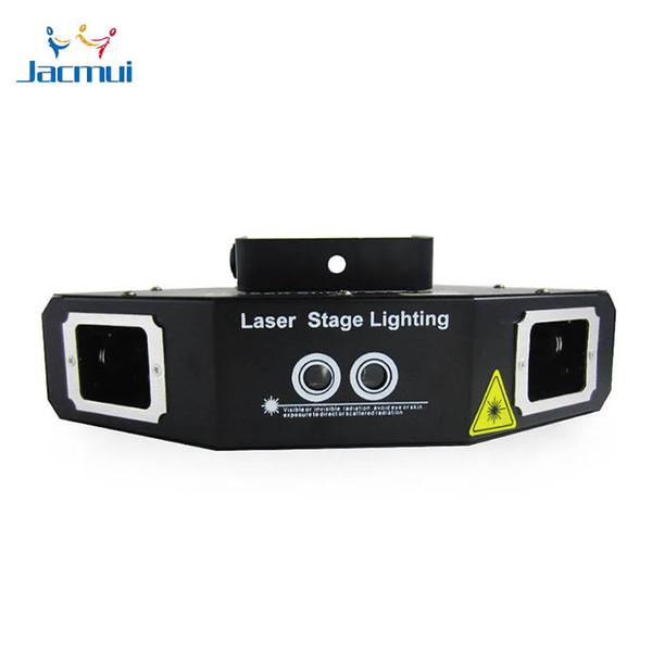 Effetto di scansione del fascio e luce laser rotante della lente del modello 4 del gobo per l'evento della fase