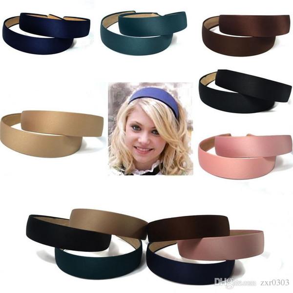 Hot headwear Plastic Fashion Canvas Wide Headband for women Hair Band  Headwear Hair Accessories hair headband a075a98a4dd