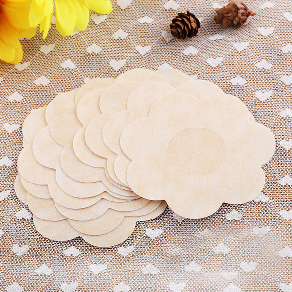 Practical 5 Pair Women's New Nipple Covers Pads Patches Self Adhesive Wedding Party Dress Disposable Comfort Breast Petals