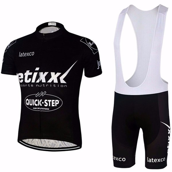 2015 QUICK STEP Cycling Team Jersey 9D Gel Pad Bike Shorts Ropa Ciclismo Herren Sommer Tour FAHRRADFAHREN