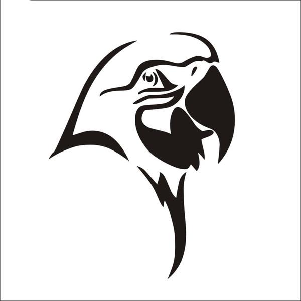 Wild Animal Sticker Vögel Papagei Aufkleber Auto Poster Dekor gemalt Wild Animal Vinyl Dekor Abziehbilder