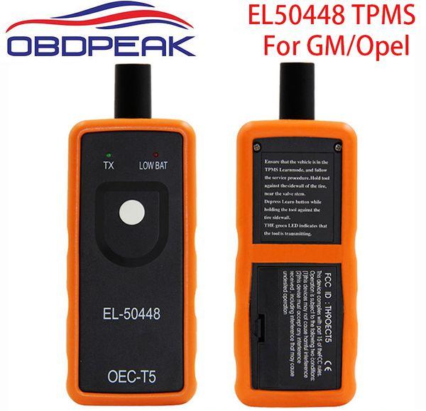 2018 EL-50448 Car Tire Pressure Monitor Sensor EL50448 TPMS Activation Tool For GM/For Opel OEC-T5 EL50449 For Ford Free Ship