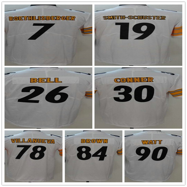 huge selection of dc2bc 3f22f 2018 Custom Men'S Women'S Youth Pittsburgh Steeler Jerseys 7 Ben  Roethilisberger 10 Martavis Bryant 12 Terry Bradshaw 19 Juju Smith Schuster  From ...