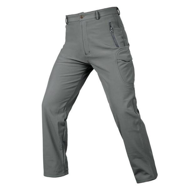 Thicken Hunting Pants For Men Women Outdoor Autumn Winter Fleece Trousers Waterproof Tactical Pants High Quality Hiking