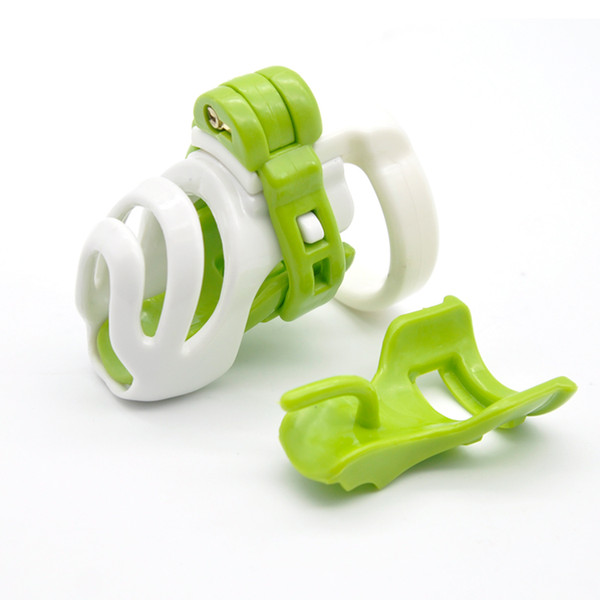 Nuovo The Biosourced Resina Dispositivi di castità Standard Maschile Cintura Anello Pene Giocattoli adulti del sesso A358-3 Y18110302