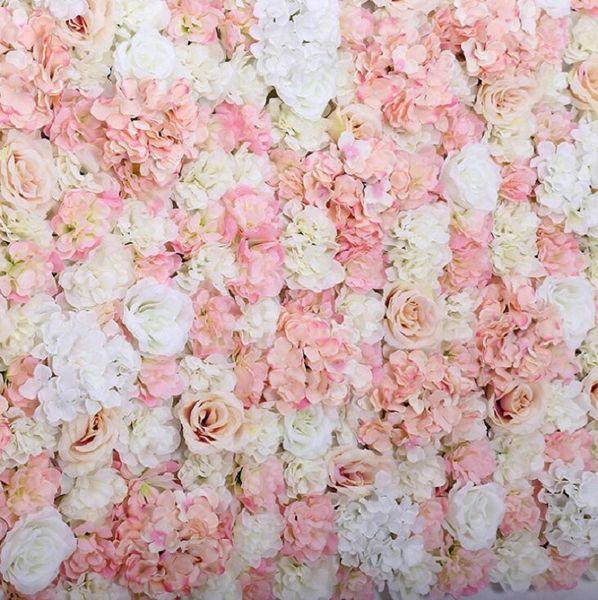 5pcs DIY Artificial Hydrangea Macrophylla Flower Heads Wedding Decorative Background Wall Decor 48817738