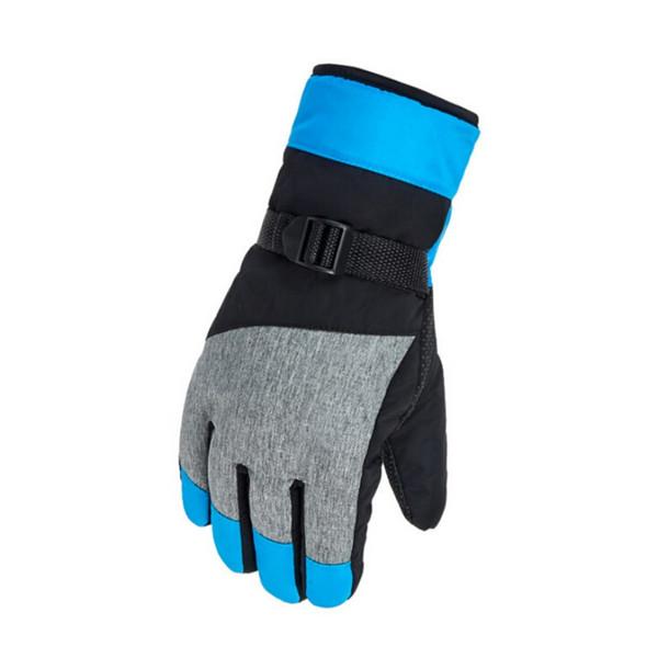 4 colori uomo donna inverno sci guanti sport all'aria aperta antivento sci guanti da sci snowboard sport