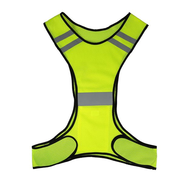 Y4352Y Lightweight Breathable Mesh Reflective Vest High Visibility Safety Vest Gear for Running Walking