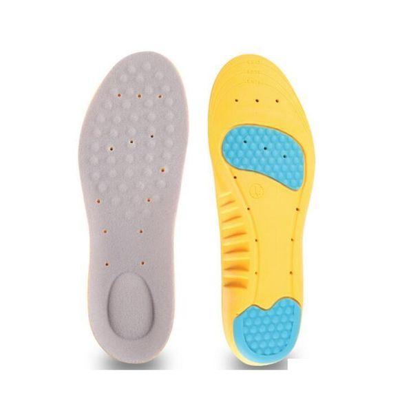 Горячая продажа PU стельки амортизационные вставки пены памяти спортивные стельки спортивная обувь колодки Бесплатная доставка 100 пар/лот