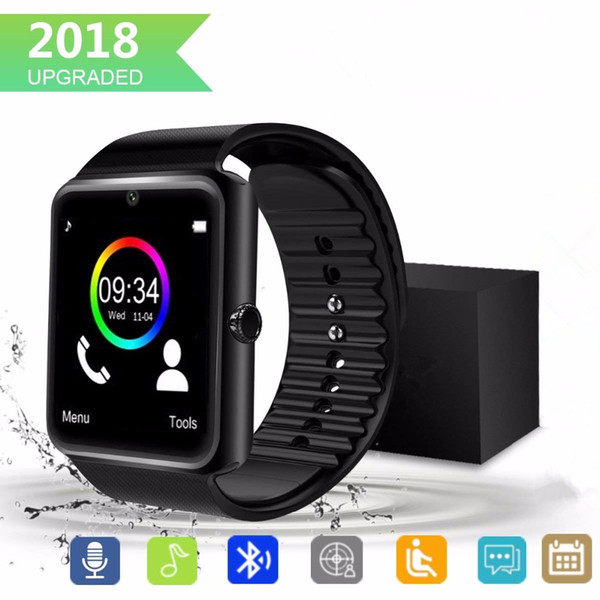 2018 Touch Screen Smart Watch Sports Fitness Compatible with Android Smartwatch for Children Kids Men Wome