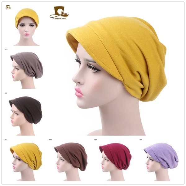 Autumn Winter Women Cashmere Caps Stacked Hat Office Ladies Casual Fashion Hair Band Hair Accessories Free Shipping